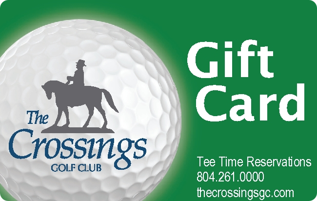 Gift Card - The Crossings Golf Club